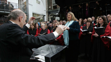 Our Lady's Choral Society presents Messiah On The Street